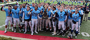 Nazareth Football Wins Second Consecutive State Title