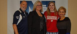 Julia Saunders Signs Letter of Intent
